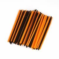 Everyday Living® Halloween Straws - Orange/Black
