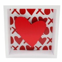 Holiday Home® Heart Shadow Box Sign