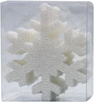 Holiday Home® Shatterproof Snowflake Ornaments - White