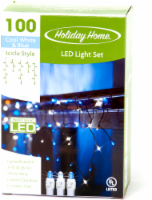 Holiday Home® LED Icicle Style Light Set - Cool White