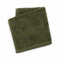 Dip Solid Wash Cloth - Green - Wash Cloth
