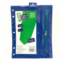 Office Works Zipper Pencil Pouch - Assorted
