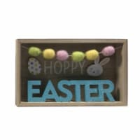 Holiday Home Pom Pom Hoppy Easter Sign