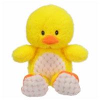 Holiday Home Plush Sitting Duck - Yellow
