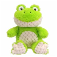 Holiday Home Plush Sitting Frog - Green