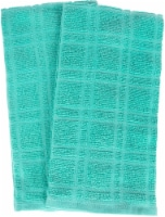 Everyday Living Solid Waffle Kitchen Towels - Teal