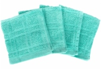Everyday Living® Solid Dish Cloths - Teal