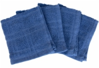 Everyday Living Solid Dish Cloths - Blue
