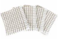 Everyday Living® Mini Checkered Kitchen Cloths - Light Gray/White