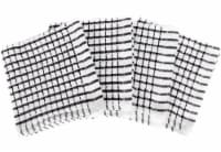 Everyday Living® Mini Checkered Kitchen Cloths - Black/White
