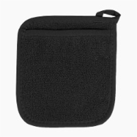 Everyday Living® Pocket Oven Mitt - Black