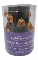 Holiday Home® 20 LED Pumpkin String Lights - Orange - 6.1 ft