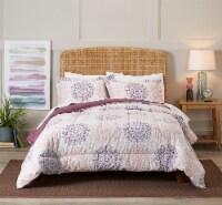 HD Designs Medallion Comforter Set - 3 Piece - Full/Queen
