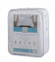 HD Designs® Light Warmth White Down Fiber Comforter - King