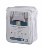 HD Designs® Medium Warmth White Down Fiber Comforter - King