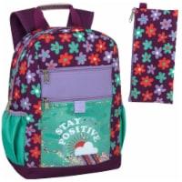 A.D. Sutton Flower Power Kids Backpack - 1 ct