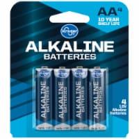 Kroger® AA Alkaline Batteries - 4 pk