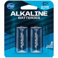 Kroger® C 1.5-Volt Alkaline Batteries - 2 pk