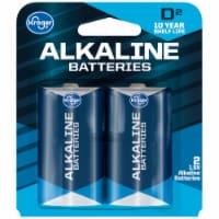 Kroger® D 1.5-Volt Alkaline Batteries - 2 pk