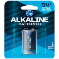 Kroger® 9-Volt Alkaline Battery - 1 ct