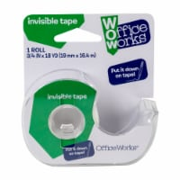 Office Works Invisible Tape - Clear