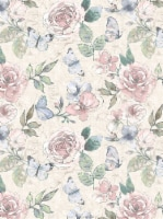 Holiday Home Mia Round Tablecloth - Floral