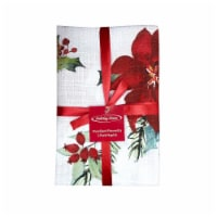 Holiday Home® Woodland Poinsettia Napkins 2 Pack