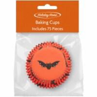 Holiday Home™ Cupcake Liners - Bat - 75 pk