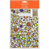 Holiday Home Candy Handle Bags - 12 Pack - 9 x 6.5 in