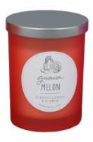 HD Designs Guava Melon Jar Candle - Red
