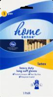 Kroger®  Heavy Duty Long Cuff Laytex Gloves