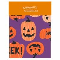 Holiday Home® Pumpkins Vinyl Tablecloth - 1 ct