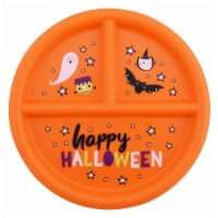 Holiday Home Happy Halloween 3-Section Plate - 1 ct
