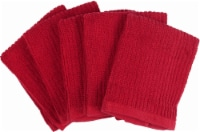 Everyday Living Dish Cloths - 5 Pack - Red