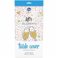 Kroger® Entertainment Essentials Table Cover - Confetti White