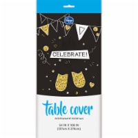 Kroger® Entertainment Essentials Table Cover - Black