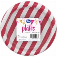 Kroger® Entertainment Essentials Simple Stripe Paper Plates - Pink