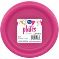 Kroger® Entertainment Essentials Paper Plates - Shocking Pink - 8 pk