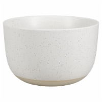 Dip™ Two Tone Dotted Cereal Bowl - White