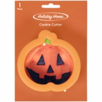 Holiday Home™ Comfort Grip Pumpkin Cookie Cutter - Orange - 1 ct