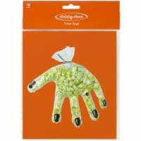 Holiday Home™ Hand-Shaped Treat Bags - 15 pk