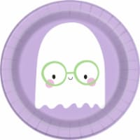 Holiday Home® Halloween Ghost Paper Plates - 8 pk - Purple