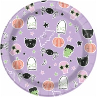 Holiday Home® Boo Squad Paper Lunch Plates - Purple