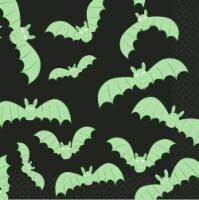 Holiday Home® Batting Around Beverage Napkins - Black/Green