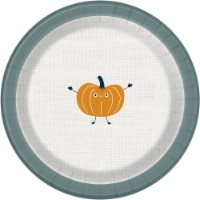 Holiday Home® Pumpkin Paper Plates