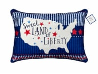 HD Designs® Holiday Sweet Land of Liberty Decor Pillow