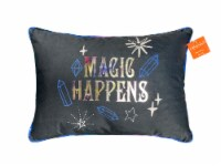 Holiday Home Magic Happens Decorative Pillow - 14 in x 20 in