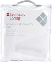 Everyday Living® Microfiber Mattress Pad - White