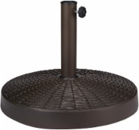 HD Designs Outdoors Umbrella Base - Brown