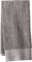 Modavari Home Fashions Pima Pinstripe Hand Towel - Gray Flannel - Hand Towel